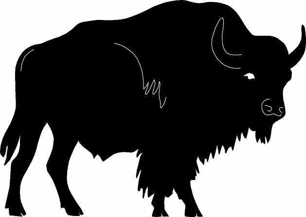 Bison Charging Figure Index